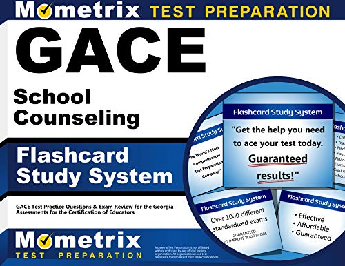 9781609718329: GACE School Counseling Flashcard Study System: GACE Test Practice Questions & Exam Review for the Georgia Assessments for the Certification of Educators (Cards)