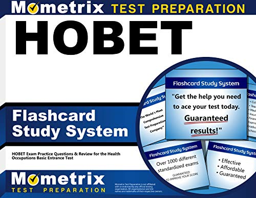 9781609718640: HOBET Flashcard Study System: HOBET Exam Practice Questions & Review for the Health Occupations Basic Entrance Test (Cards)
