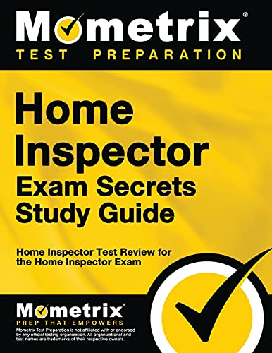 9781609718657: Home Inspector Exam Secrets Study Guide: Home Inspector Test Review for the Home Inspector Exam