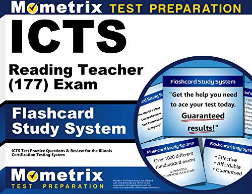 9781609719395: ICTS Reading Teacher (177) Exam Flashcard Study System: ICTS Test Practice Questions & Review for the Illinois Certification Testing System (Cards)