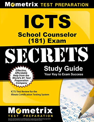 9781609719401: ICTS School Counselor (181) Exam Secrets Study Guide: ICTS Test Review for the Illinois Certification Testing System