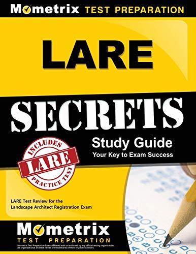 9781609719821: LARE Secrets Study Guide: LARE Test Review for the Landscape Architect Registration Exam