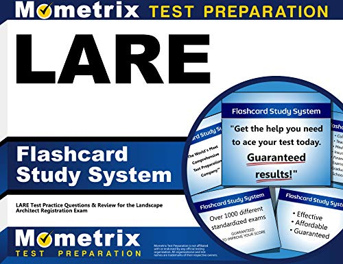 9781609719838: LARE Flashcard Study System: LARE Test Practice Questions & Review for the Landscape Architect Registration Exam (Cards)