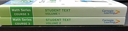 9781609721121: Math Series, Course 3: Common Core Math Program, Student Edition (Vol. 1 & Vol. 2)
