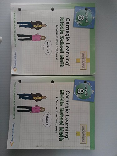 9781609721473: Carnegie Learning Math Series Common Core Math Program Course 1 Vol 1 & 2