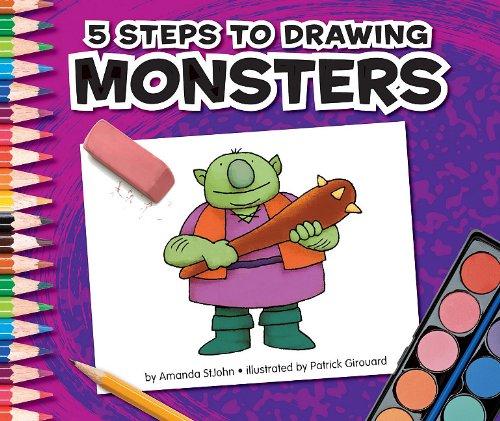 5 Steps to Drawing Monsters: Amanda StJohn