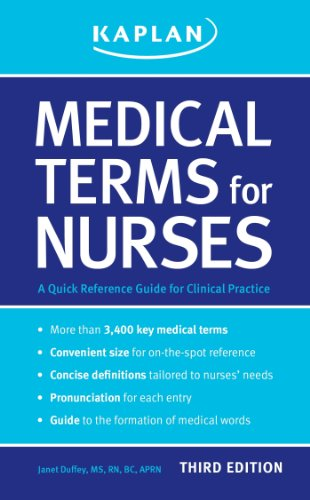 9781609780289: Medical Terms for Nurses: A Quick Reference Guide for Clinical Practice