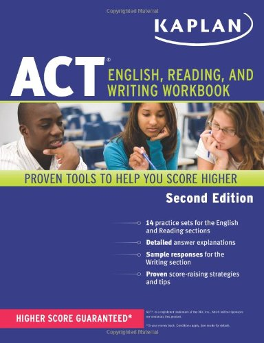 9781609780548: Kaplan ACT English, Reading, and Writing Workbook (Kaplan Test Prep)