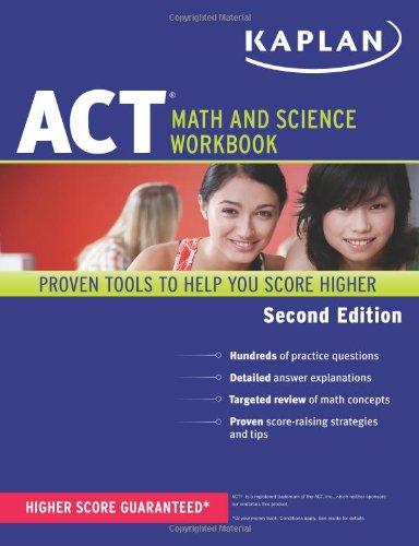9781609780586: Kaplan ACT Math and Science Workbook (Kaplan Test Prep)