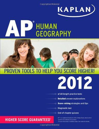 9781609780678: Kaplan AP Human Geography 2012