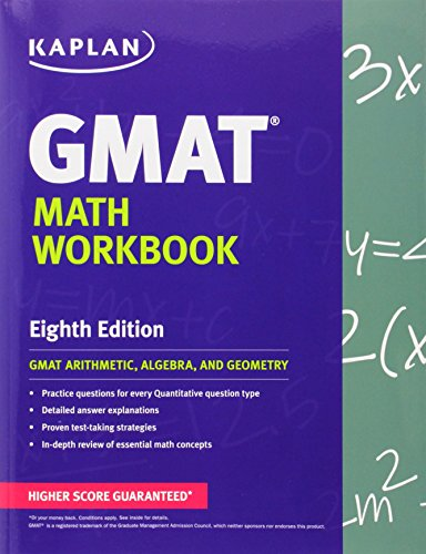 9781609780982: Kaplan GMAT Math Workbook (Kaplan Test Prep)