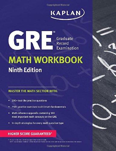 9781609781026: GRE Math Workbook (Kaplan Test Prep)
