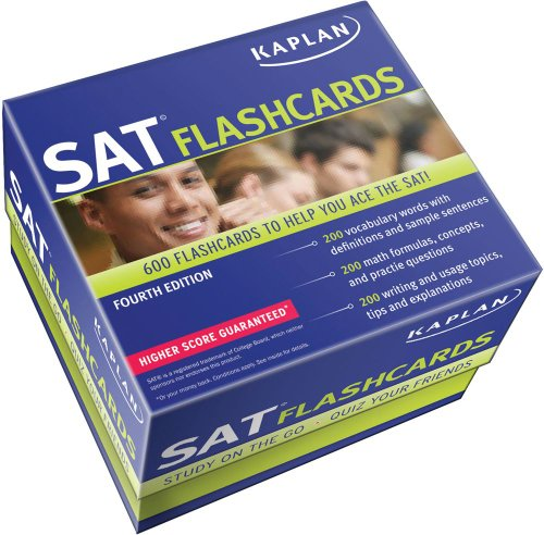 9781609781125: Kaplan SAT Flashcards
