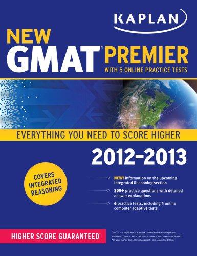 9781609782177: Kaplan New GMAT Premier 2012-2013