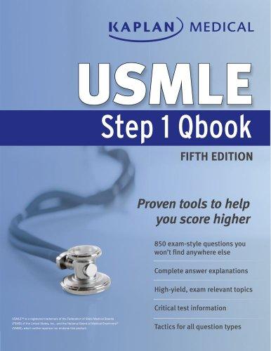 9781609782245: Kaplan Medical USMLE Step 1 Qbook (Kaplan USMLE)