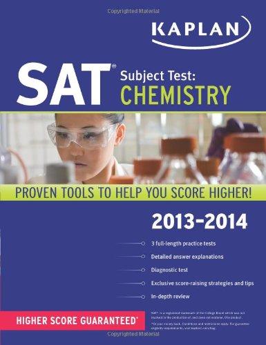 9781609785994: Kaplan SAT Subject Test Chemistry 2013-2014