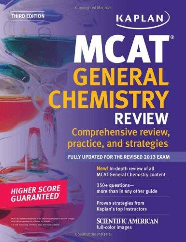 9781609786052: Kaplan MCAT General Chemistry Review Notes (Kaplan Test Prep)