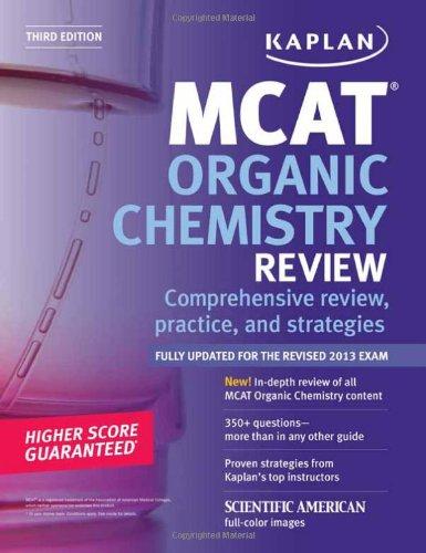 9781609786069: Kaplan MCAT Organic Chemistry Review Notes (Kaplan Test Prep)