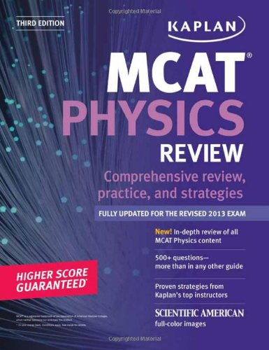 9781609786267: Kaplan MCAT Physics Review Notes (Kaplan Test Prep)