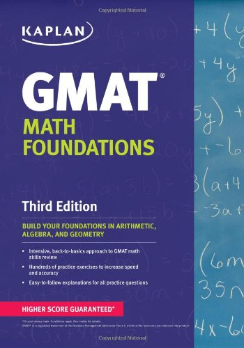 9781609786786: Kaplan GMAT Math Foundations