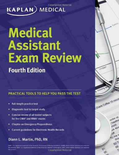 9781609788940: Medical Assistant Exam Review Fourth Edition (Kaplan Medical)