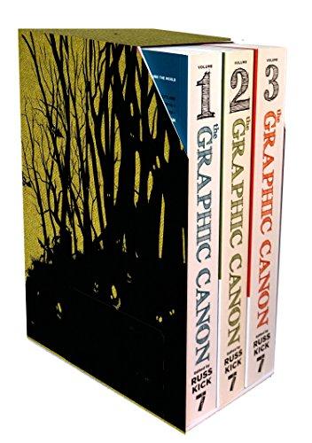 9781609803834: Graphic Canon Vols.1-3 Boxed Set
