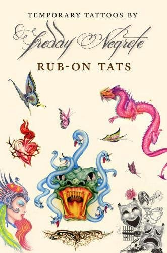9781609807559: Temporary Tattoos by Freddy Negrete - AbeBooks ...