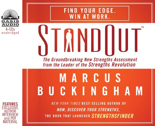StandOut (Library Edition): The Groundbreaking New Strengths Assessment from the Leader of the Strengths Revolution (1609813820) by Marcus Buckingham