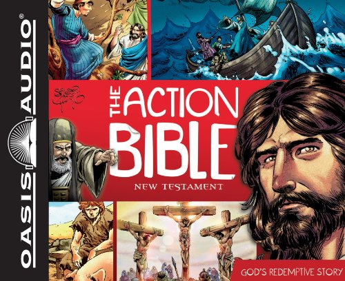 9781609815110: The Action Bible New Testament (Library Edition): God's Redemptive Story
