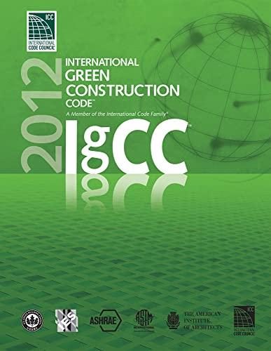 9781609830595: 2012 International Green Construction Code (International Code Council Series)