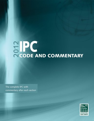 9781609830700: 2012 International Plumbing Code Commentary (International Code Council Series)