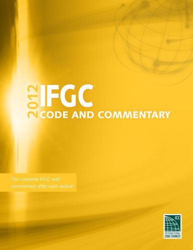 9781609830724: 2012 International Fuel Gas Code Commentary (International Code Council Series)