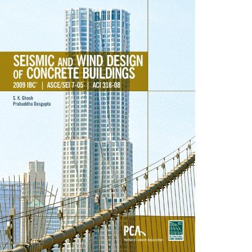 9781609830991: Seismic and Wind Design of Concrete Buildings: 2009 IBC, Asce/SEI 7-05, Aci 318-08