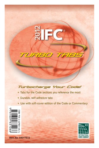 9781609831059: 2012 International Fire Code Turbo Tabs for Loose Leaf Edition (International Code Council Series)