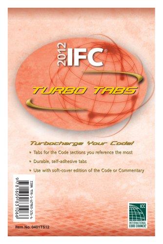 9781609831066: 2012 International Fire Code Turbo Tabs (International Code Council Series)