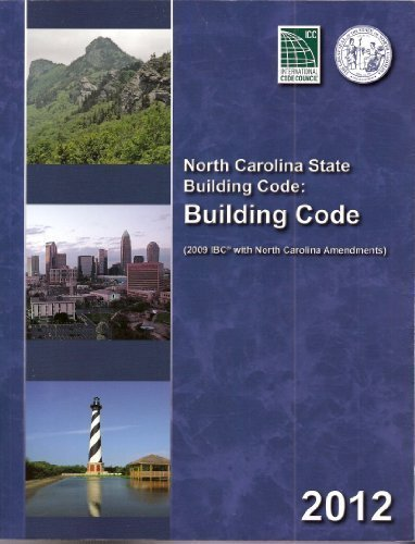 9781609831165: North Carolina State Building Code Building Code 2012