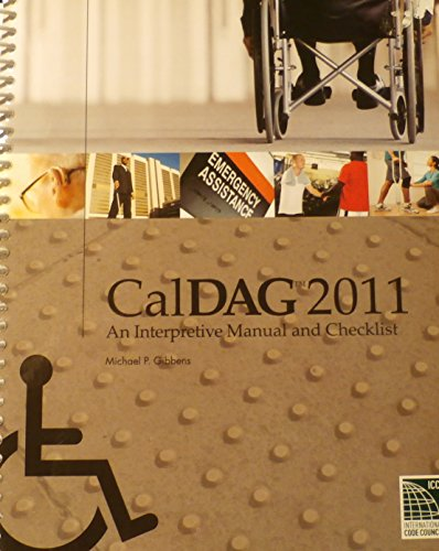 9781609831530: CalDAG: 2011 An Interpretive Manual and Checklist