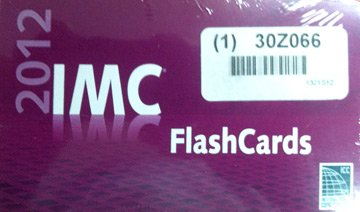 9781609831813: 2012 IMC Flash Cards
