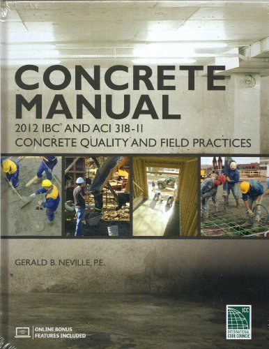 9781609832674: Concrete Manual: Based on the 2012 IBC and ACI 318-11