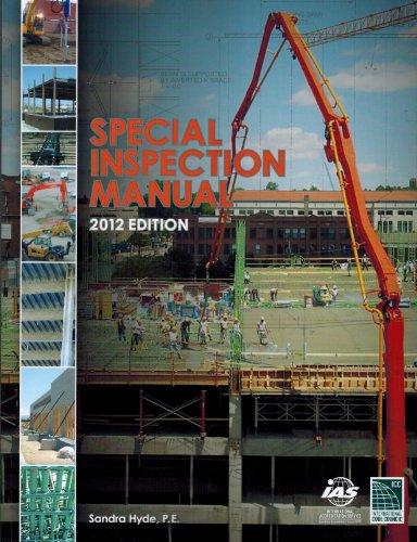 9781609835224: Special Inspection Manual: 2012 Edition