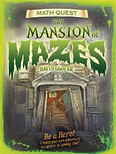 9781609920890: The Mansion of Mazes (Math Quest)