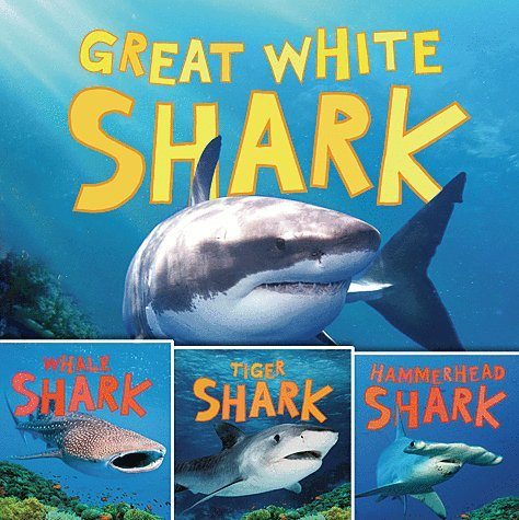 9781609924003: Discovering Sharks 4 Paperback Book Set Includes Whale Shark, Tiger Shark, Hammerhead Shark & Great White Shark!