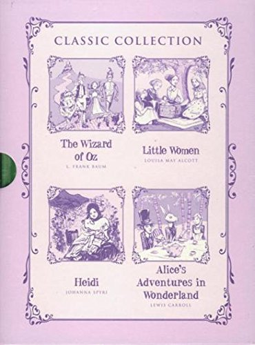 9781609924027: Classic Collection - The Wizard of Oz, Little Women, Heidi, and Alice's Adventures in Wonderland