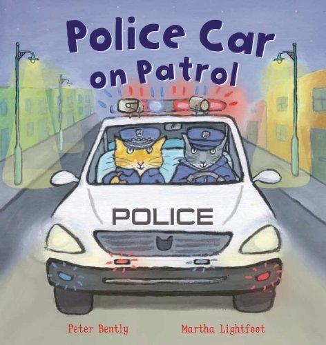 9781609924362: Police Car on Patrol (Busy Wheels)