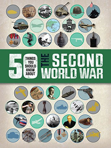50 Things You Should Know About the Second World War: Adams, Simon