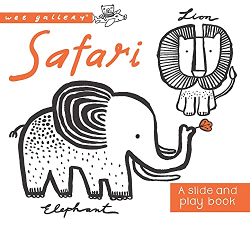 9781609929169: Safari: A Slide and Play Book (Wee Gallery)