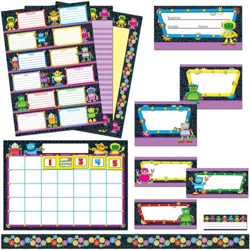 9781609960162: Robots Classroom Collection Bulletin Board Set