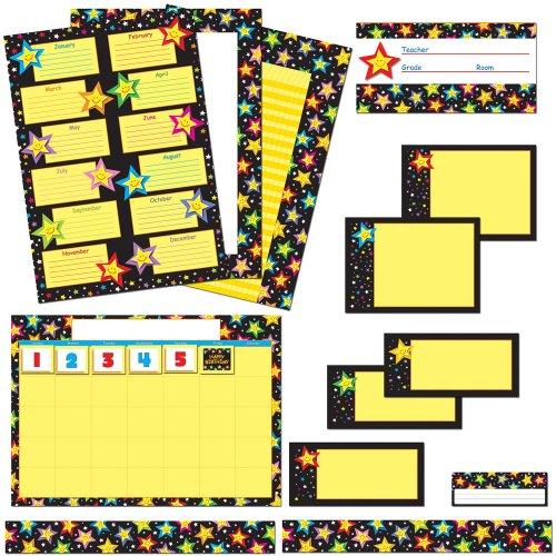 9781609960179: Stars Classroom Collection Bulletin Board Set