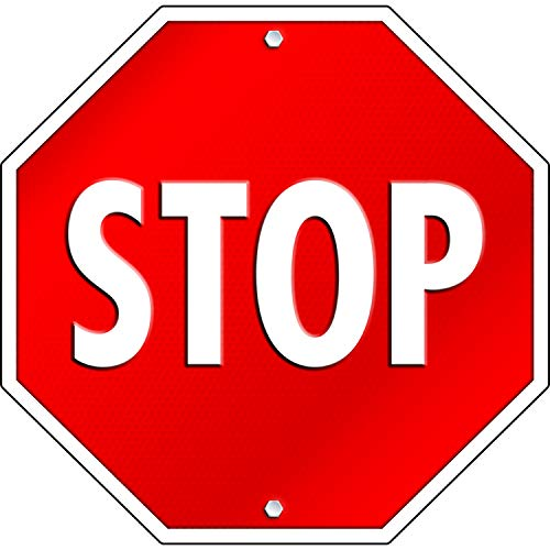 9781609960452: Stop Sign 2-Sided Decoration
