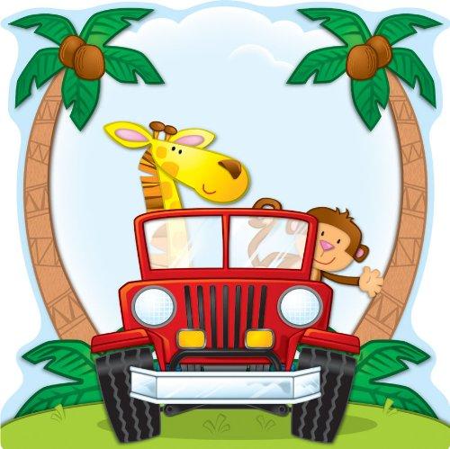 9781609960506: Jungle Safari Two-Sided Decoration